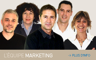 equipe marketing