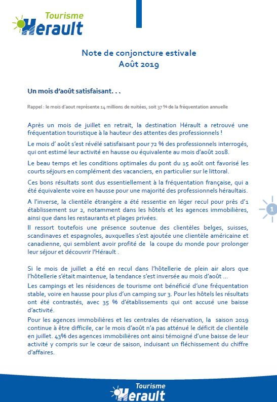 2019 HERAULT Note Conjoncture AOUT